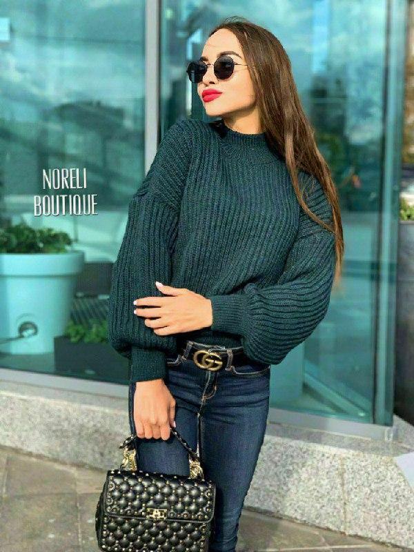 Женский свитер oversize Glamor