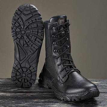 Берці зимові / військова тактична взуття ДЕЛЬТА (чорний)
