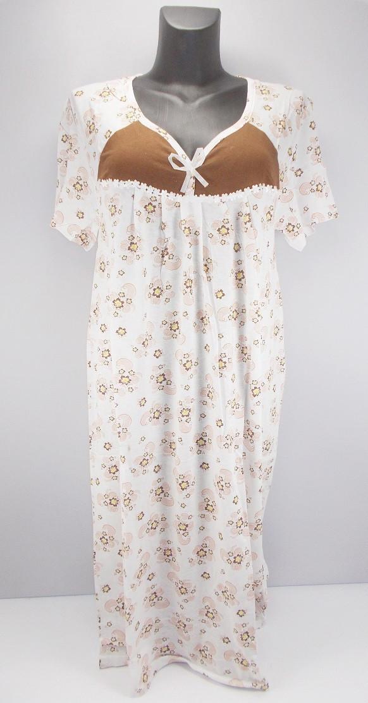 Ночная рубашка хлопок Ясмин 5 р.50-52 (в груди 104 см)