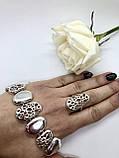 Комплект серебряных украшений Чиз от Ирида-В, фото 3