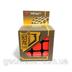 Головоломка Кубик Рубіка 3х3 MoYu Guanlong v3 (чорний)
