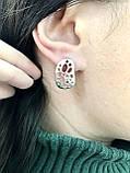 Комплект серебряных украшений Чиз от Ирида-В, фото 4