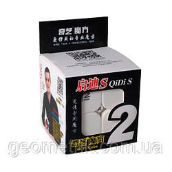 Кубик Рубіка 2х2 QiYi QiDi S(Кольоровий пластик)(головоломка, спидкубинг, швидкісний кубик)