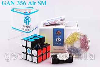 Кубик Рубіка 3х3 GAN 356 AIR SM (+ мішечок)(магнітний, головоломка)