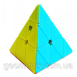 Пирамидка Рубика QiYi Qiming (Цветной пластик) (головоломка, логические игры)