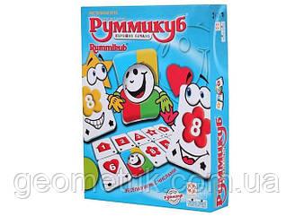"""Настільна гра """"Руммикуб. Гарний початок (Rummikub Start Right)"""" (оригінальний) (для всієї сім'ї,"""