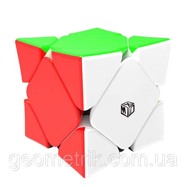 Кубик Рубика Cкьюб (Skewb) Xman Magnetic Concave (Цветной) магнитный (головоломка)