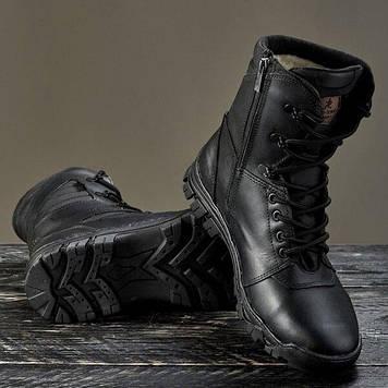 Берці зимові / військова тактична взуття ЛЕГІОН (black)