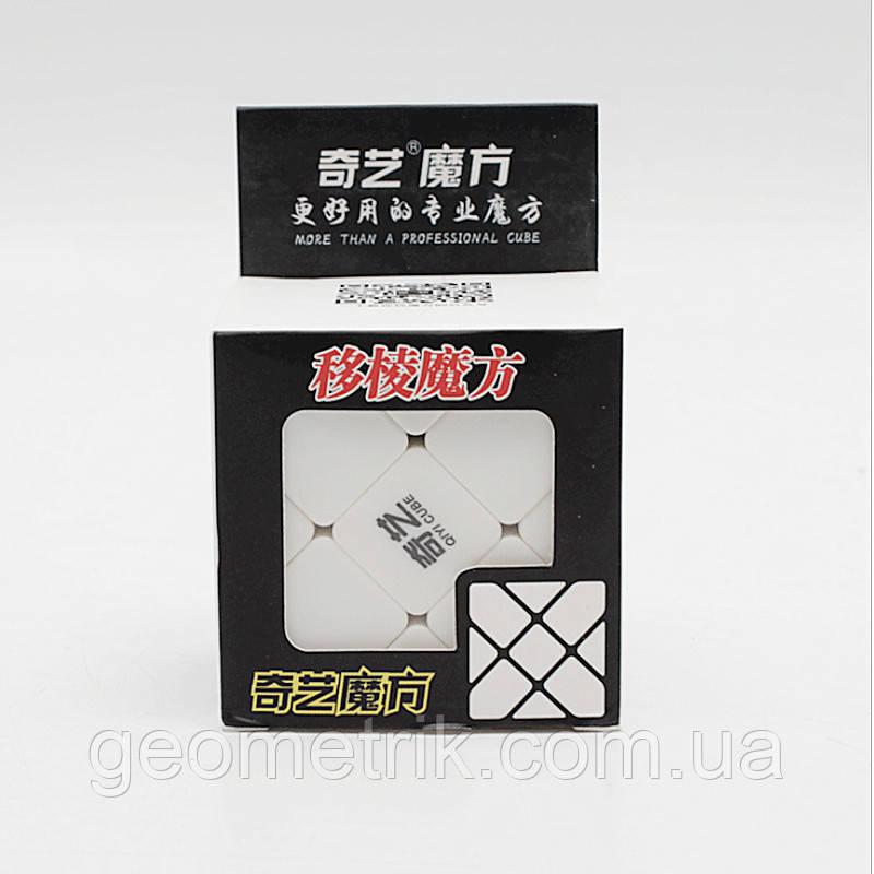 Кубик Рубіка Fisher cube (кубик Фішера) без етикеток (QiYi)