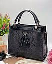 Женская Каркасная сумка Модель - 06-16 Фото реал Материал - PU (экокожа), фото 5