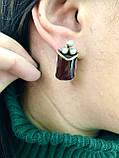 Комплект серебряных украшений Шейк от Ирида-В, фото 3