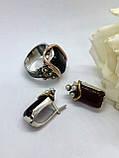 Комплект серебряных украшений Шейк от Ирида-В, фото 2