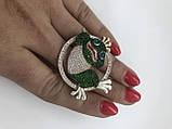 Серебрянное брошь Царевна от Ирида-В, фото 2
