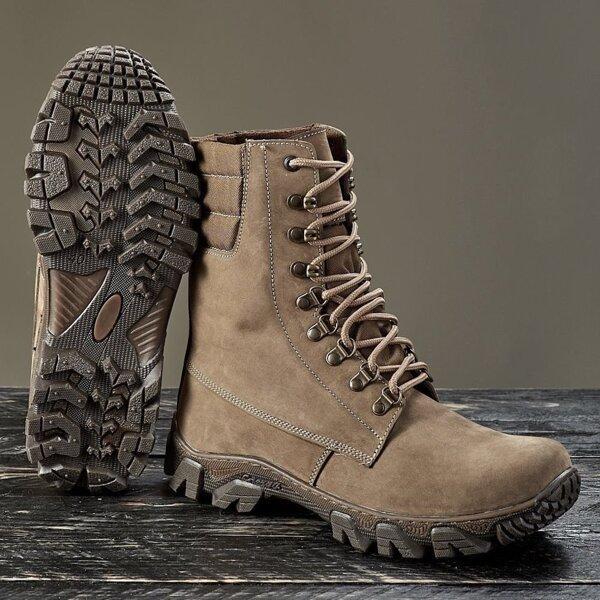 Берцы демисезонные / военная, армейская обувь ТАРПАН (койот)