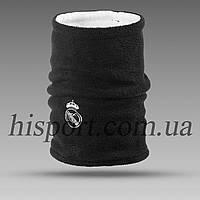 Двусторонний бафф (горловик) Реал Мадрид черный/ адидас белый, фото 1
