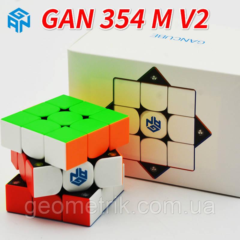 Кубик Рубіка 3х3 GAN354 V2M IPG (без наклейок) арт. GAN354-2