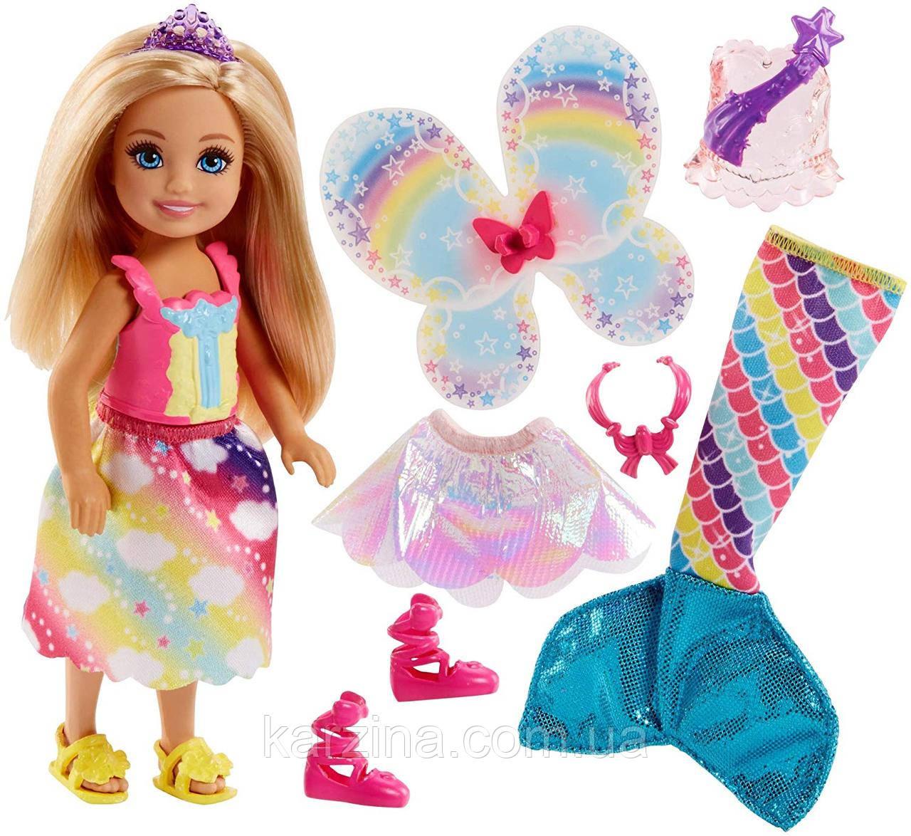 Кукла Челси с Дримтопии Радужной Бухты Barbie Dreamtopia Rainbow
