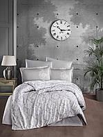 Высококласный комплект постельного белья из сатина 160х220 Турция (ТМ ARAN CLASY) Toledo V1