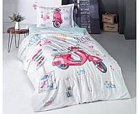 Детское постельное белье 160х220 хлопковое Free Cirl Турция Clasy