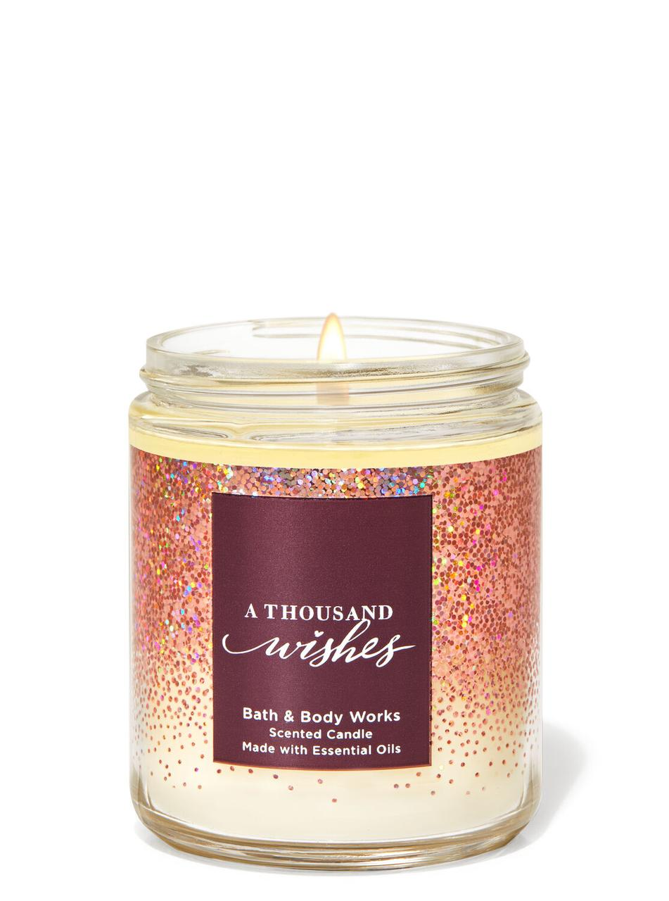 Свеча ароматизированная Bath and Body Works A Thousand Wishes Scented Candle 198 г
