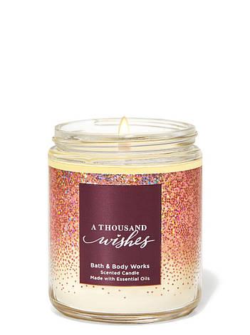 Свеча ароматизированная Bath and Body Works A Thousand Wishes Scented Candle 198 г, фото 2