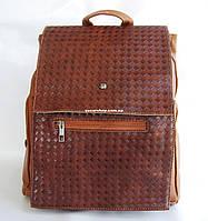 Кожаный женский рюкзак под А-4. Женская сумка. Портфель под нетбук. РС01