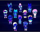 Набор-сюрприз ЛОЛ Lights блестящие куколки / L.O.L. Surprise! Lights Glitter Doll, фото 10