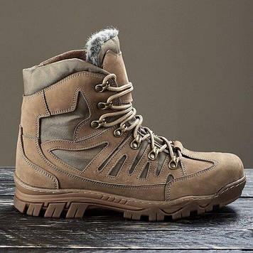 Зимние тактические ботинки / военная, армейские обувь КАСКАД (coyote)