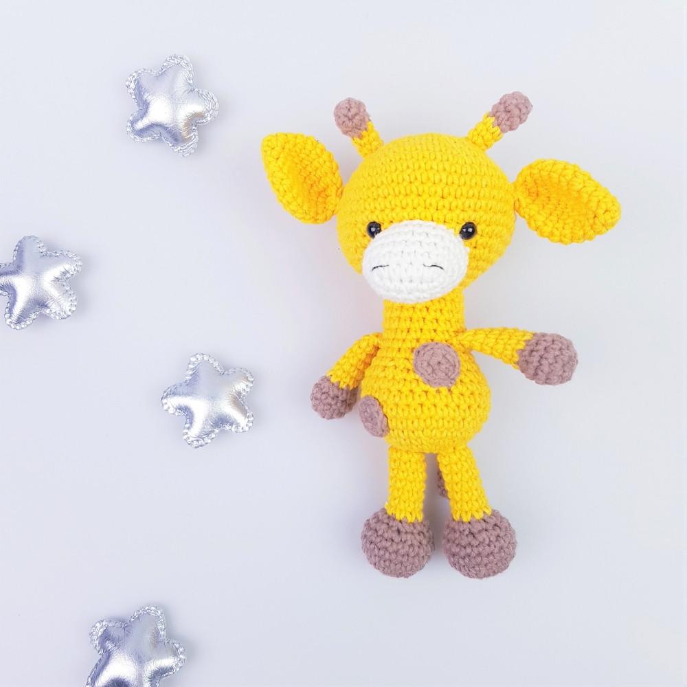 Жирафа іграшка м'яка HappyLittleFox