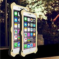 Чехол книжка Love Mei MK2 для Apple iPhone 6 6S Plus 5.5 золотой