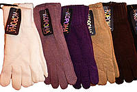 Теплые зимние женские перчатки Корона.