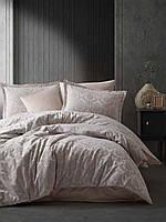 Турецкое постельное белье Евро 200х220 SATEN жаккардовое ( TM Aran Clasy) ANITA V1