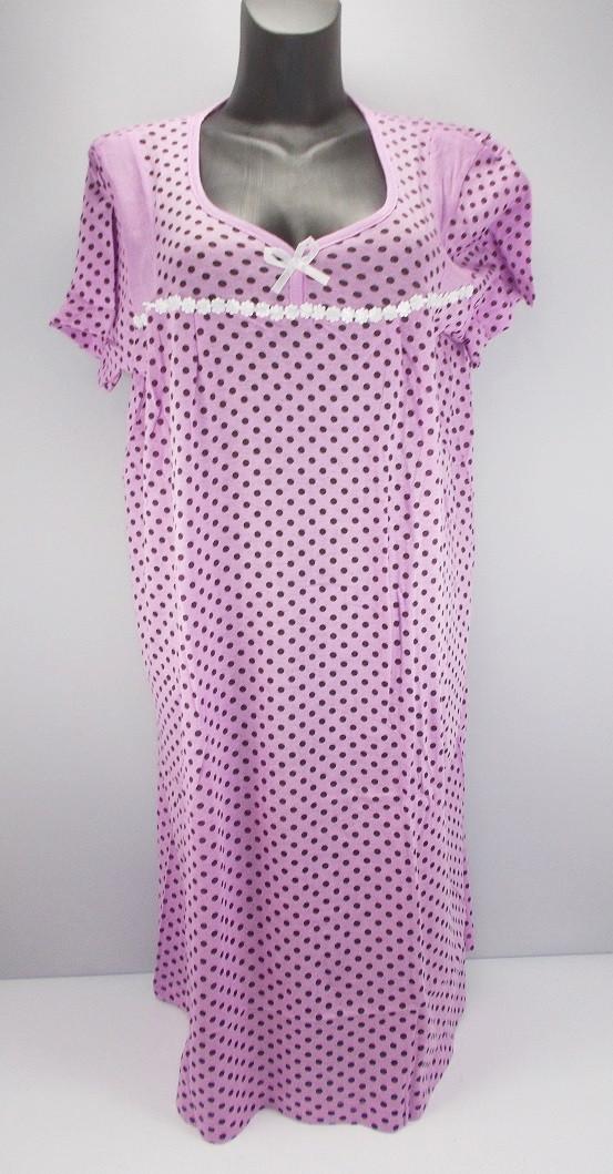 Ночная рубашка хлопок Euro 2 р.54-56 (в груди 124 см)
