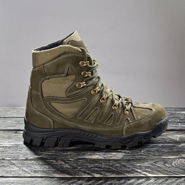 Ботинки тактические демисезонные / военная, армейские обувь КАСКАД (olive)