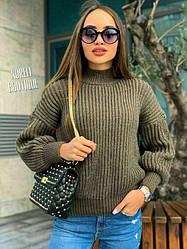 Женский свитер oversizе  Of course yes