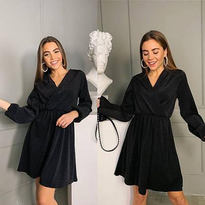 Вечернее люрексовое женское платье, фото 2