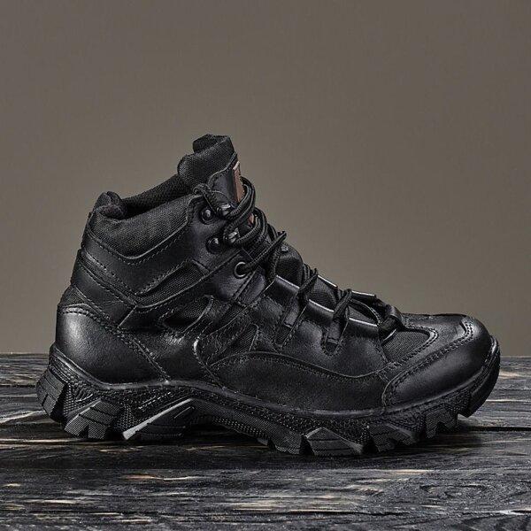 Тактическая обувь демисезонная / военные, армейские ботинки Tactic HARD Gen.II (black)