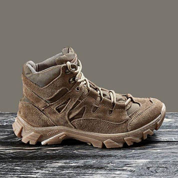 Тактическая обувь демисезонная / военные, армейские ботинки Tactic HARD1 (coyote)