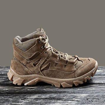 Тактична взуття демісезонне / військові, армійські черевики Tactic HARD1 (coyote)