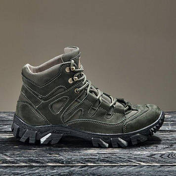 Тактична взуття демісезонне / військові, армійські черевики Tactic HARD3 (olive)