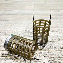 "Фидерная рыболовная кормушка ""Fider-Karp MS5K"" , вес 40 грамм"