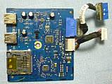 Плати від монітора DELL U2713Hb поблочно, в комплекті (неробоча підсвічування матриці)., фото 4