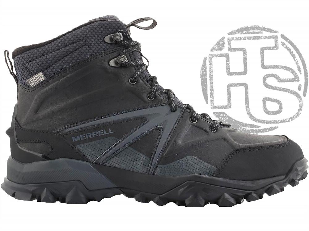 Оригинальные мужские ботинки Merrell Capra Glacial Ice Mid Waterproof (мужские Меррелл Капра Гласиал) J35799