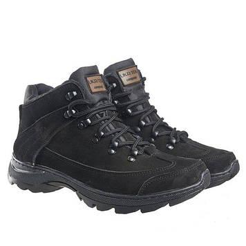 Военные ботинки зимние / армейская, тактическая обувь ТИТАН Gen.II (black) Гладкая Кожа