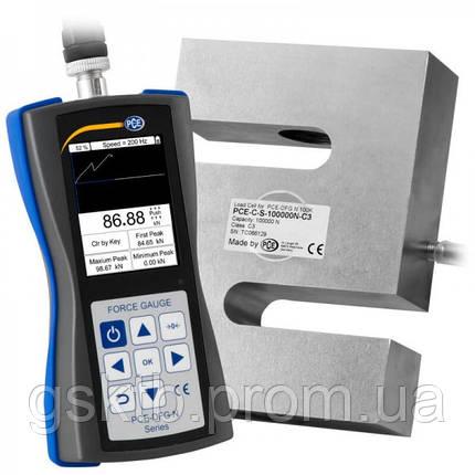 PCE-DFG N 100K динамометр до 100 000Н (10 197 кг) с сертификатом ISO (Германия), фото 2