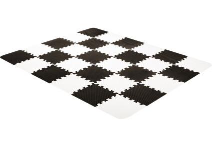 Коврик-пазл Kinderkraft Luno Black 30 элементов