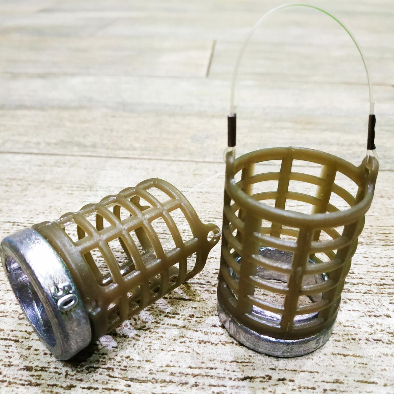 "Фидерная рыболовная кормушка ""Fider-Karp MS6K"" , вес 50 грамм"