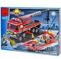 """Конструктор Brick 907 """"Пожарная охрана"""" - 420 деталей"""