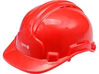 Будівельна захисна червона каска Vorel 74191 (Польща)
