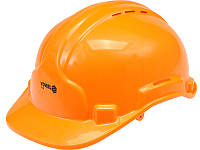 Будівельна захисна помаранчева каска Vorel 74194 (Польща)